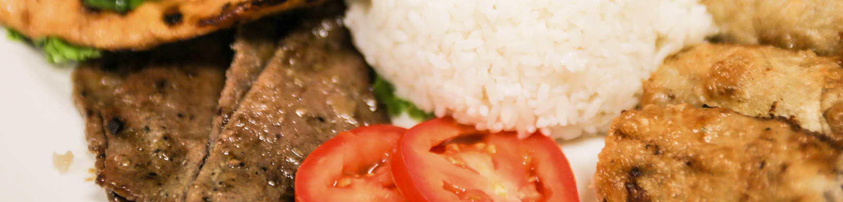 Steamed Rice Plate